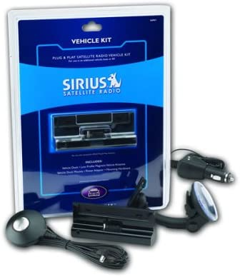 Sirius Plug and Play Satellite Radio Vehicle Ki