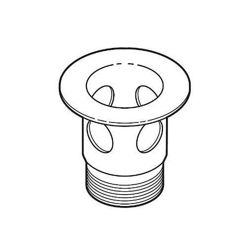 Delta Faucet RP23060PN Drain Flange for Bathroom Polished Nickel