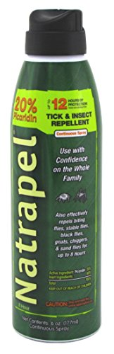 Natrapel 12 Hour Insect Repellent 6 Ounce Spray (2 Pack)