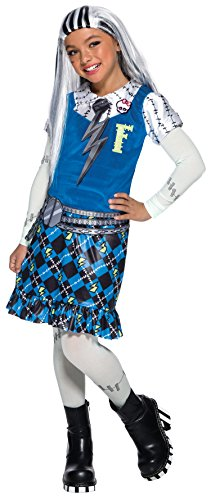 Rubie's Monster High Child's Frankie Stein Costume, Large, Multicolor]()