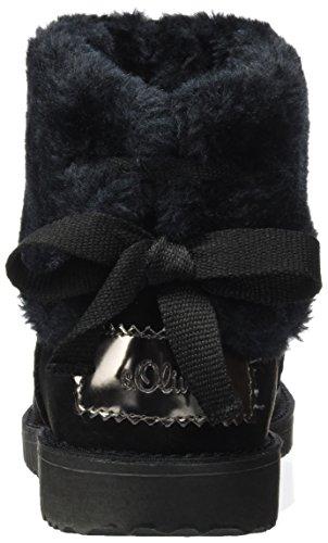 oliver Et Bottines S Bottes Noir 26418 Souples Femme black dAZZqHw