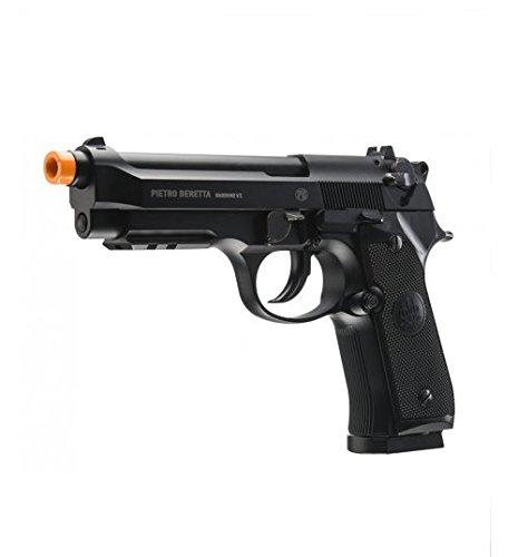 Umarex Beretta Full Metal M92 A1 Full Auto/Semi Airsoft CO2 Blowback Pistol (Metal Frame Airsoft Guns)