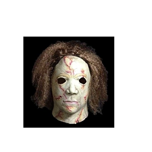 The Mask Biz™ Scary Face Michael Myers Murderer Crazy Head (Michael Myers Costume For Women)