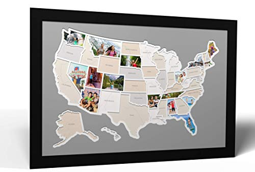 - 50 States USA Photo Map