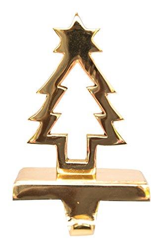 Insideretail–Gancio per Calza di Natale Albero con Stella in Oro Insideretail Ltd 501887GOL-1-17