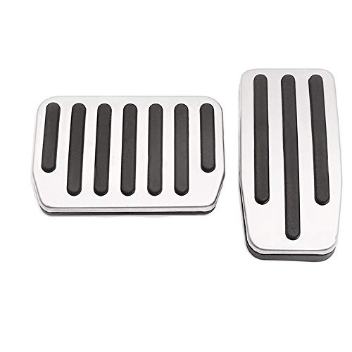 - Auto Rover Model 3 Performance Pedal Set, Auto Aluminum Foot Pedal Pads Accessories Pedal Covers for Tesla Model 3 Protection Film