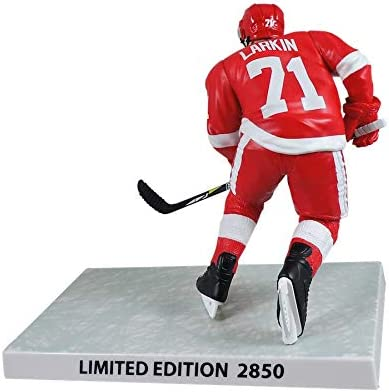 NHL Figures Dylan Larkin 6 Player Replica Detroit Red Wings