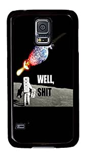 grove Samsung Galaxy S5 covers Well Shit PC Black Custom Samsung Galaxy S5 Case Cover