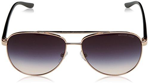 a2e9d01ddf Michael Kors MK5007 109936 Rose Gold MK5007 Aviator Sunglasses Lens  Category 3
