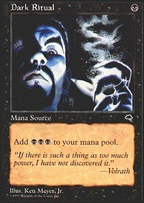Magic: the Gathering - Dark Ritual - Tempest (Magic Dark Ritual)