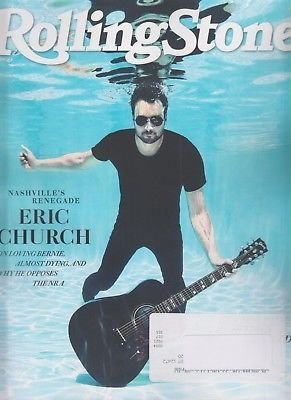Rolling Stone Magazine (August, 2018) Eric Church Cover