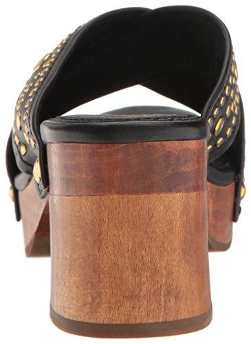 Frye Women's Fiona Deco Slide Platform Sandal Black outlet the cheapest supply cheap price shop sale online hx3Y40