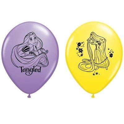 CelebrateExpress Tangled Latex Balloons]()