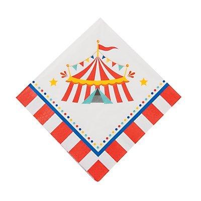 Carnival Luncheon Napkins 2 -