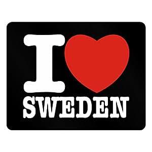 Teeburon I love Sweden Plastic Acrylic