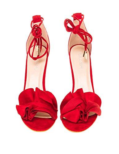 Sandals Pubblico Pubblico Red Pubblico Desiderio Sandals Sugar Red Desiderio Sugar Desiderio Desiderio Sandals Red Sugar xBOwPA
