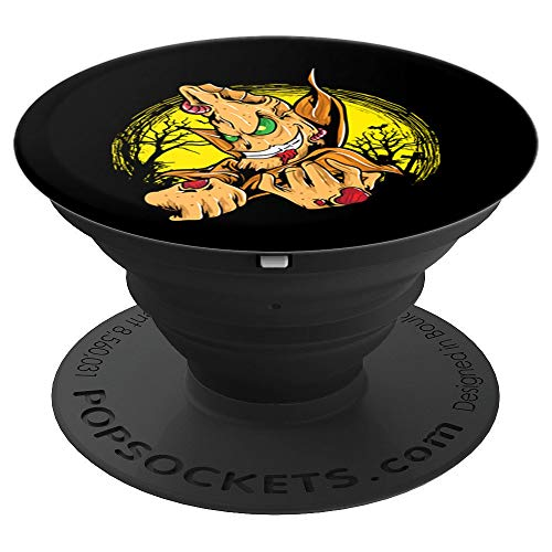 Zombie Goblin Halloween Scary Ghoul Horror Lovers Gift - PopSockets Grip and Stand for Phones and Tablets