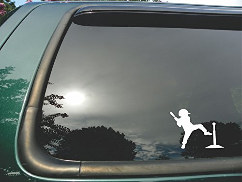 T-ball Player- Die Cut Vinyl Window Decal/sticker for Car or Truck 4