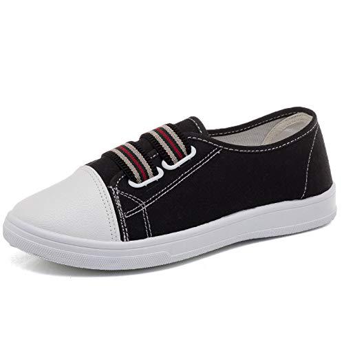 40 couleur Qiusa Taille Blanc Chaussures Noir Eu xO0UXqWwv