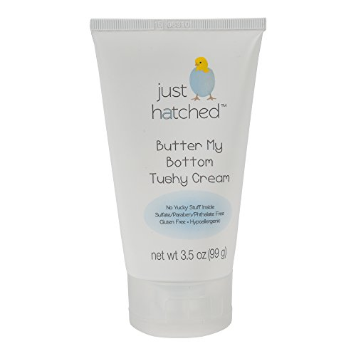 Just Hatched Butter My Bottom Tushy Cream, 3.5 Ounce - Baby Bottom Butter