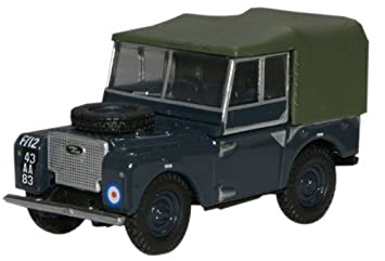 c350f807c21f Oxford Diecast 76LAN180004 RAF Land Rover Series I 80 Canvas by ...