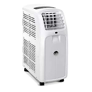 Devanti Portable Mobile Air Conditioner Powerful Fan Cooler Efficient Cooling Dehumidifier Caster Wheels 13000BTU White