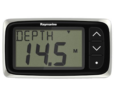 Raymarine i40 Digital Depth Sounder with Thru-hull Transducer
