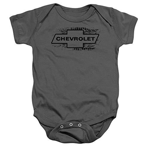 (Chevrolet - Toddler Bowtie Burnout Onesie, Size: 6 Months, Color:)