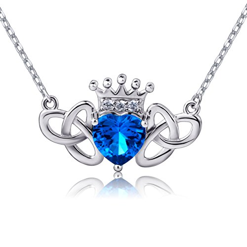Sterling Trinity Claddagh Pendant Necklace product image