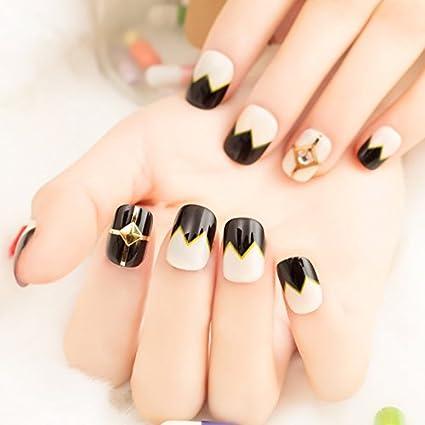 30 Trendy Short Coffin Nails Design Ideas