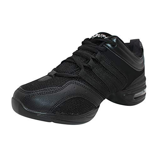 Yudesun Zapatos Aire Libre Deportes Danza Mujer - Mujeres Lona Cordones Suela de Goma Zapatillas Moda Practicidad Running Sneaker Jazz Contemporaneo Baile Informal (Los Zapatos Son mas pequenos)