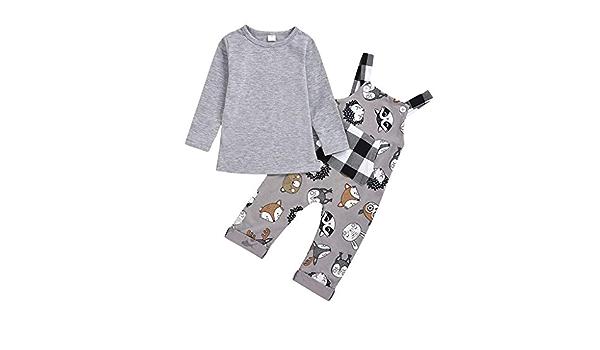 Conjunto de ropa para bebé y niña de manga larga + camiseta ...