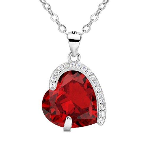 Cubic Zirconia Necklace : Accessories Jewelry - 9