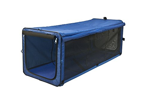 One for Pets The Indoor/Outdoor Cat Enclosure Playpen, Blue 18″x18″x48″ (Long)