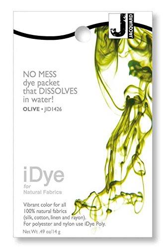 Jacquard V000334443 iDye Fabric Dye 14 Grams-Olive