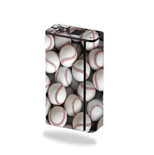 Decal Sticker Skin WRAP - Smok XCube Mini 75W - Lots of Baseballs