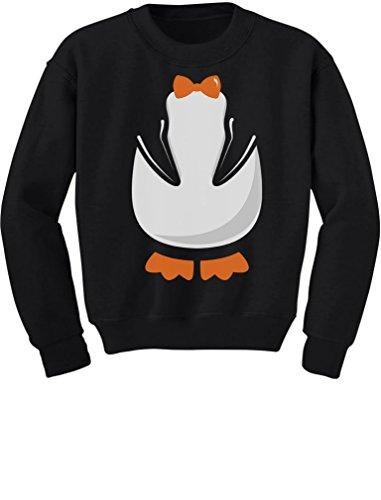 Lil Penguin Toddler Costumes (TeeStars - Children's Cute Penguin Costume Halloween Toddler/Kids Sweatshirts 2T Black)