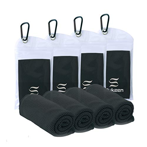 Sukeen [4 Pack Cooling Towel (40