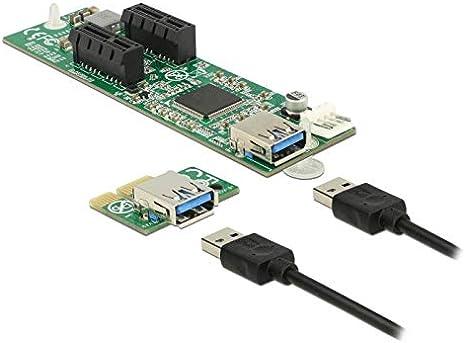 DeLOCK PCIe x16 Flexible Riser Card