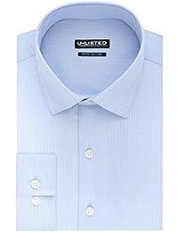 Kenneth Cole Unlisted Men's Slim Fit Stripe Spread Collar...