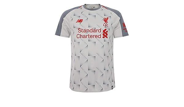 a1f4febea01 Amazon.com   New Balance 2018-2019 Liverpool Third Football Soccer T-Shirt  Jersey   Sports   Outdoors
