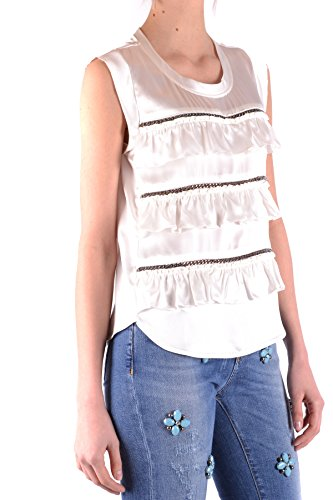 Top Seda Blanco Mujer Pinko Ezbc056113 zwZSAfx0