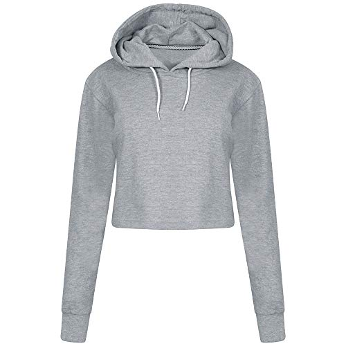 Gray Sale Hoodie Clearance Long DOLDOA Casual Autumn Womens Top Sweatshirt Fashion Pullover Sleeve Comfort Solid 6dPffxnwp
