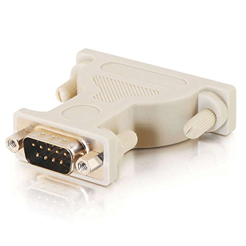 C2G 02449 DB9 Male to DB25 Female Serial RS232 Serial Adapter, Beige by C2G (Image #4)