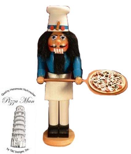Ginger Cottages Luigi the Pizza Man Nutcracker NUT104
