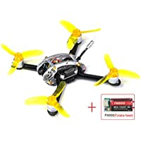 King Kong Fly Egg 130 PNP FPV Racing Mini Indoor Brushless Drone Quadcopter FM800(Futaba) Receiver