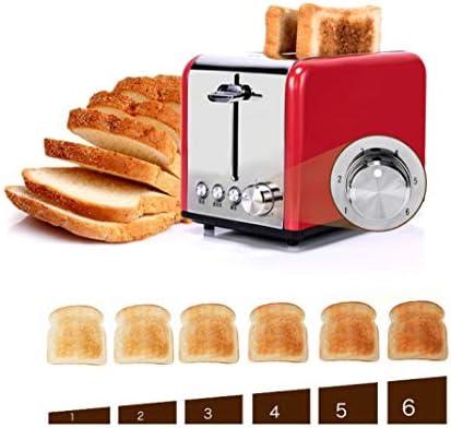 Décongelation Rechauffage Machine De Petit Déjeuner À La Maison, Cuisson De Toasts 2 Pièces De Cuisson Multifonctionnelle Entièrement Automatique De Toasts