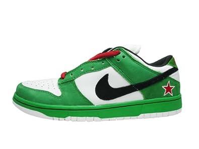 san francisco c8742 838eb Amazon | [ナイキ] DUNK LOW PRO SB 【Heineken】 CLASSIC GREEN/BLACK-WHITE-RED  304292-302 (28.0) | NIKE(ナイキ) | NIKE(ナイキ)