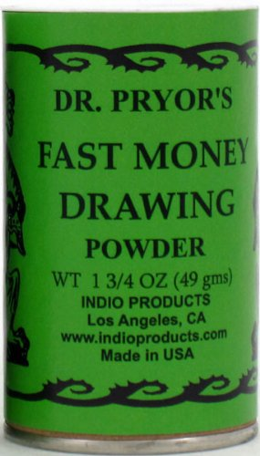 Dr. Pryor's Incense Powder Fast Money Drawing