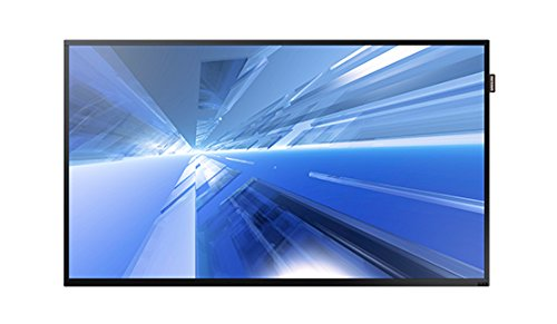 Samsung DM40E 40'' Slim Direct-Lit LED Full HD Display for Business, Auto Power & Source Recovery